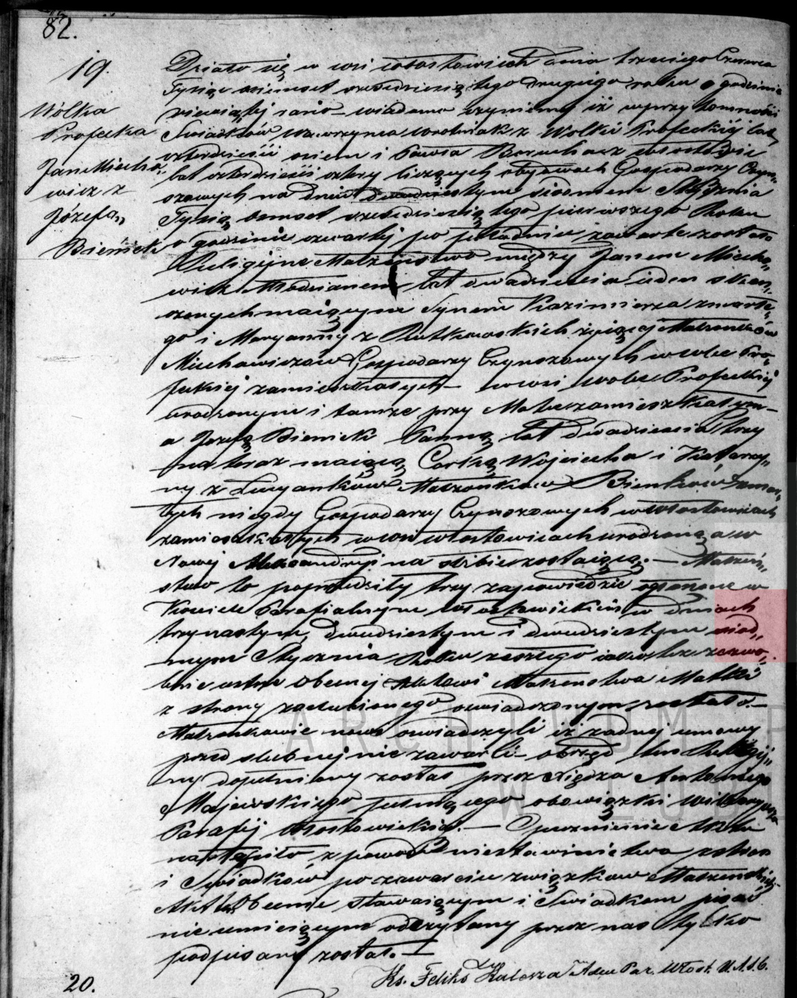 Jan Miechowicz Jozefa Bieniek Marriage Certificate - Copy.jpg