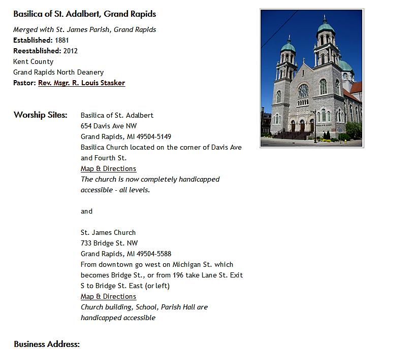 ARCHIVES – Saint Adalbert Basilica – Buffalo, New York ...