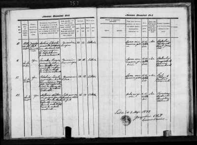 1848 Rozalia Benka marriage parish register-1.jpg