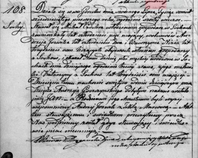 Jan Czochra birth baptism record 1861 - Edited.jpg
