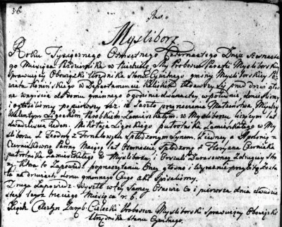 Ligocki, Walenty and Czerniak Apolonia Marriage 1814 Mysliborz Parish.jpg