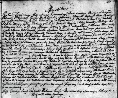 Ligocki, Walenty and Czerniak Apolonia Marriage announcement 1814.jpg