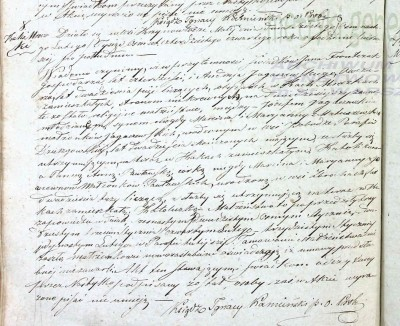 Marriage record for Jozef Jagaczewski and Anna Pawlowska in 1844.jpg