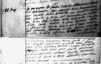 Mateusz Firlik and Teresia Cheryng 1806 marriage entry.PNG